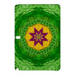 Feathers In The Sunshine Mandala Samsung Galaxy Tab Pro 10 1 Hardshell Case by pepitasart