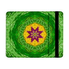 Feathers In The Sunshine Mandala Samsung Galaxy Tab Pro 8 4  Flip Case by pepitasart