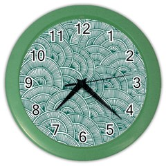 Design Art Wesley Fontes Color Wall Clocks by wesleystores