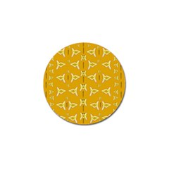 Fishes Talking About Love And   Yellow Stuff Golf Ball Marker (10 Pack) by pepitasart