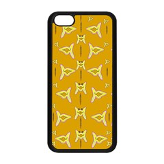 Fishes Talking About Love And   Yellow Stuff Apple Iphone 5c Seamless Case (black) by pepitasart