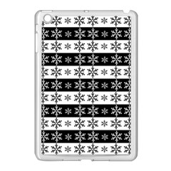 Snowflakes   Christmas Pattern Apple Ipad Mini Case (white) by Valentinaart