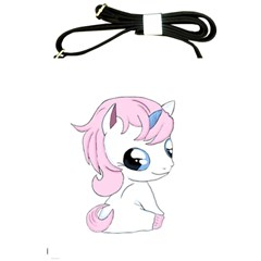 Baby Unicorn Shoulder Sling Bags by Valentinaart