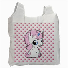 Baby Unicorn Recycle Bag (two Side)