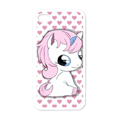 Baby Unicorn Apple Iphone 4 Case (white)