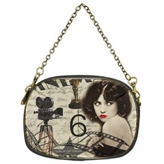 Vintage Cinema Chain Purses (one Side)  by Valentinaart