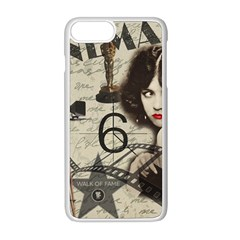 Vintage Cinema Apple Iphone 8 Plus Seamless Case (white) by Valentinaart