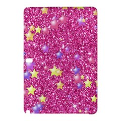 Stars On Sparkling Glitter Print,pink Samsung Galaxy Tab Pro 12 2 Hardshell Case by MoreColorsinLife