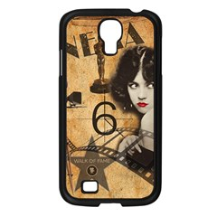 Vintage Cinema Samsung Galaxy S4 I9500/ I9505 Case (black) by Valentinaart
