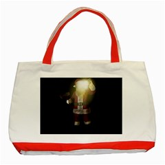 Santa Killer Classic Tote Bag (red) by Valentinaart