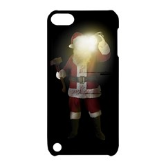 Santa Killer Apple Ipod Touch 5 Hardshell Case With Stand by Valentinaart