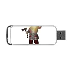 Santa Killer Portable Usb Flash (two Sides) by Valentinaart