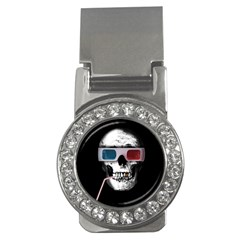 Cinema Skull Money Clips (cz)  by Valentinaart