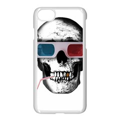 Cinema Skull Apple Iphone 8 Seamless Case (white)