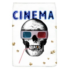 Cinema Skull Flap Covers (l)  by Valentinaart
