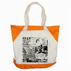 Graffiti Accent Tote Bag by Valentinaart