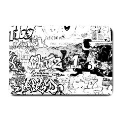 Graffiti Small Doormat  by Valentinaart