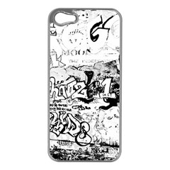 Graffiti Apple Iphone 5 Case (silver) by Valentinaart