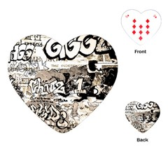 Graffiti Playing Cards (heart)
