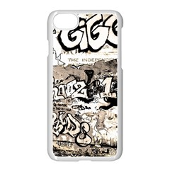 Graffiti Apple Iphone 8 Seamless Case (white) by Valentinaart