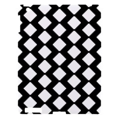 Abstract Tile Pattern Black White Triangle Plaid Apple Ipad 3/4 Hardshell Case
