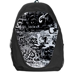 Graffiti Backpack Bag by Valentinaart