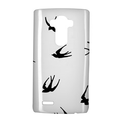 Black Bird Fly Sky Lg G4 Hardshell Case by Alisyart