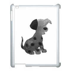 Dalmatian Inspired Silhouette Apple Ipad 3/4 Case (white) by InspiredShadows