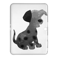 Dalmatian Inspired Silhouette Samsung Galaxy Tab 4 (10 1 ) Hardshell Case