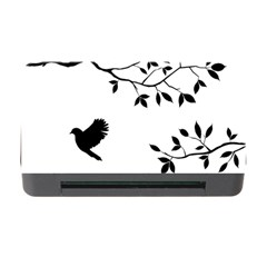 Bird Tree Black Memory Card Reader With Cf