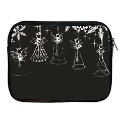Christmas Angels Star Blue Apple Ipad 2/3/4 Zipper Cases by Alisyart