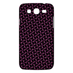 Twisted Mesh Pattern Purple Black Samsung Galaxy Mega 5 8 I9152 Hardshell Case  by Alisyart