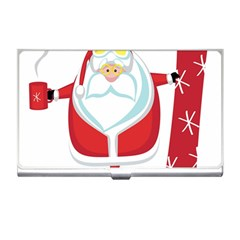 Christmas Santa Claus Business Card Holders by Alisyart
