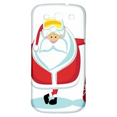 Christmas Santa Claus Samsung Galaxy S3 S Iii Classic Hardshell Back Case