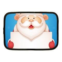Christmas Santa Claus Letter Netbook Case (medium)