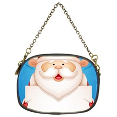 Christmas Santa Claus Letter Chain Purses (two Sides)