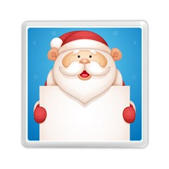 Christmas Santa Claus Letter Memory Card Reader (square)