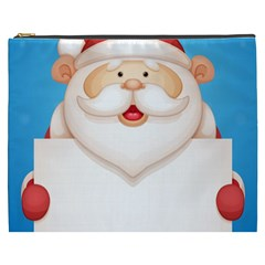 Christmas Santa Claus Letter Cosmetic Bag (xxxl)