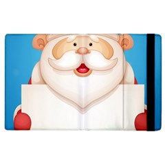 Christmas Santa Claus Letter Apple Ipad 2 Flip Case by Alisyart