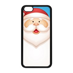 Christmas Santa Claus Letter Apple Iphone 5c Seamless Case (black) by Alisyart