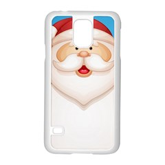 Christmas Santa Claus Letter Samsung Galaxy S5 Case (white)