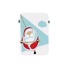 Christmas Santa Claus Paragliding Apple Ipad Mini Protective Soft Cases
