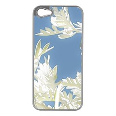 Nature Pattern Apple Iphone 5 Case (silver) by dflcprintsclothing