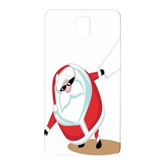 Christmas Santa Claus Snow Cool Sky Samsung Galaxy Note 3 N9005 Hardshell Back Case