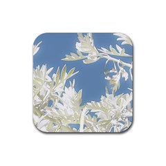 Nature Pattern Rubber Coaster (square)  by dflcprintsclothing