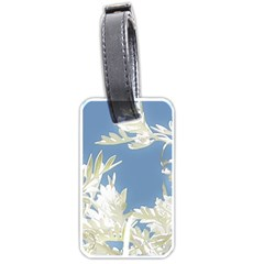 Nature Pattern Luggage Tags (two Sides) by dflcprintsclothing