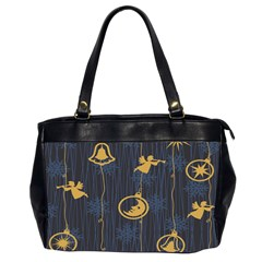 Christmas Angelsstar Yellow Blue Cool Office Handbags (2 Sides)  by Alisyart