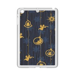 Christmas Angelsstar Yellow Blue Cool Ipad Mini 2 Enamel Coated Cases