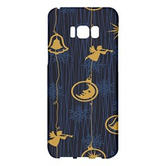 Christmas Angelsstar Yellow Blue Cool Samsung Galaxy S8 Plus Hardshell Case