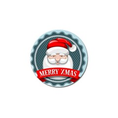 Christmas Santa Claus Xmas Golf Ball Marker (10 Pack) by Alisyart